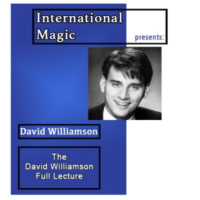 International Magic Lecture DVD - David Williamson
